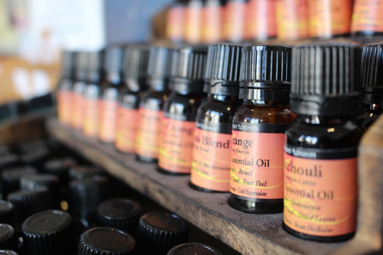 olejki eteryczne w ogrodzie