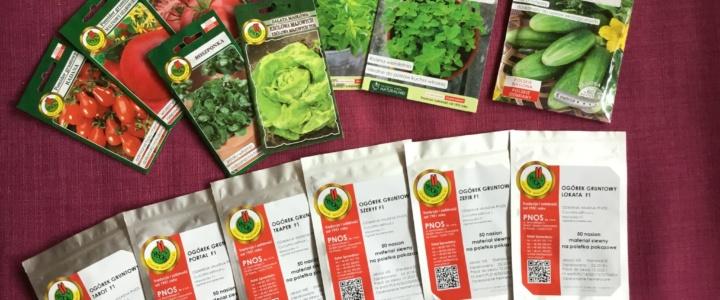 Balkonowy warzywnik plus… nasiona firmy PNOS